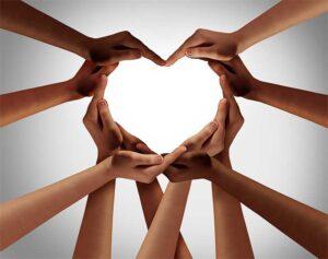 Careers Hand Heart Image